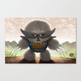 Flufferine Canvas Print