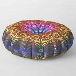 Butterfly Mandala by Emma Parrish Floor Pillow