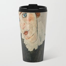 Portrait of Wally by Egon Schiele Travel Mug
