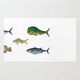 game fish Rug