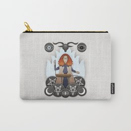Silver Springs: An Homage to Myrtle Snow Carry-All Pouch