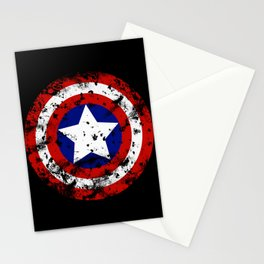 Captain's Shield Stationery Cards