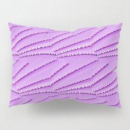 Magenta Ridges Pillow Sham