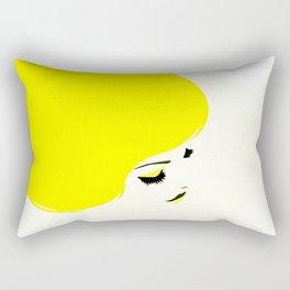 girl hair Rectangular Pillow