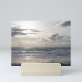Silver Scene ~ Ocean Ripple Effect Mini Art Print
