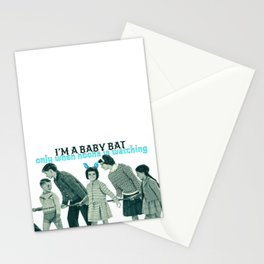 Baby bat Stationery Cards