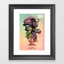 Z Gang - Rat King - Villains of G universe Framed Art Print