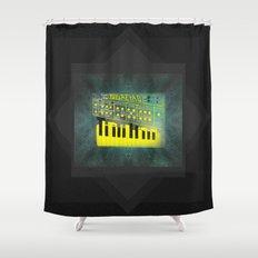Futuretro Space Shower Curtain