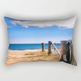 Beach Front photography Rectangular Pillow