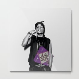 A$AP Rocky Road | Rappers and Cereal Metal Print