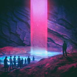 Metal Travel Mug - NEON BAPTISM (everyday 02.20.17) - beeple