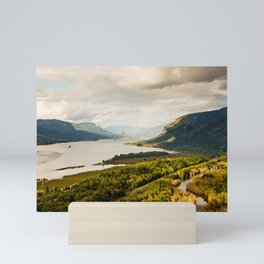 Rainbow Over the Gorge Mini Art Print