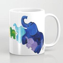 Elephant Rainbow Coffee Mug