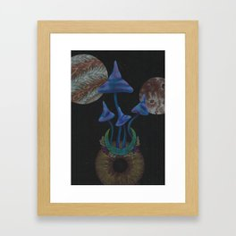 Universe Grows Framed Art Print