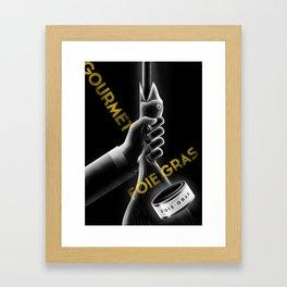 Gourmet Foie Gras Framed Art Print