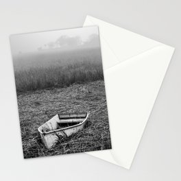 Abandoned Marsh Boat Stationery Cards
