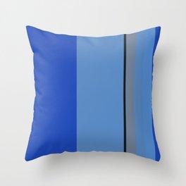 Mountain Bluebird Color Pallet Throw Pillow