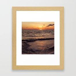 Tide Coming In Framed Art Print