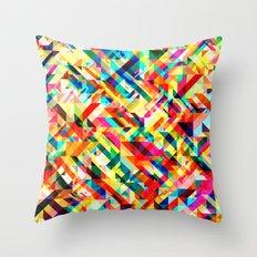 Summertime Geometric Throw Pillow