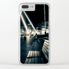 Spotlights in Montreal Clear iPhone Case