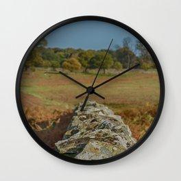 Dry stone wall Wall Clock