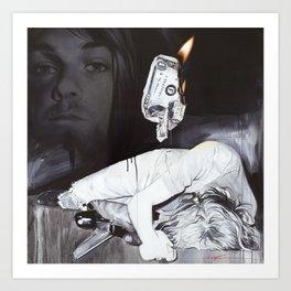 '#uck Fame' Art Print