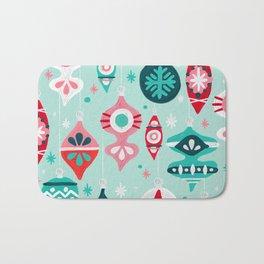 Christmas Ornaments – Mint Palette Bath Mat