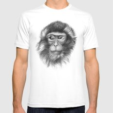 Snow Monkey G2013-069 Mens Fitted Tee White SMALL