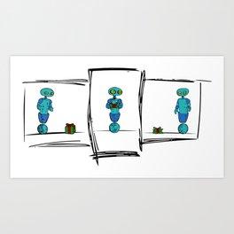 E-Gifting Problems Art Print