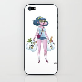 Nerd Girl iPhone Skin