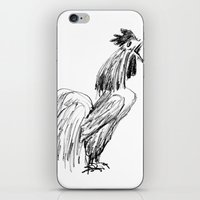 rooster iPhone & iPod Skins featuring Rooster by Boris Burakov