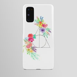 Deathly Hallows Floral Android Case