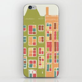 Festival in the streets iPhone Skin