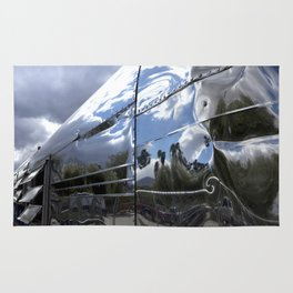 COOL CLASSIC VINTAGE AIRSTREAM Rug