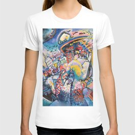 Moscow by Wassily Kandinsky T-shirt