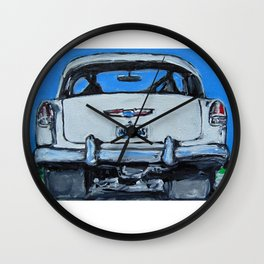1955 Chevy Large Wall Clock
