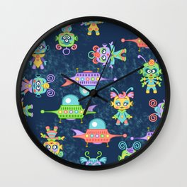 Kosmic Kiddos Wall Clock