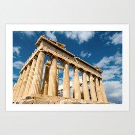 Parthenon Greece Art Print