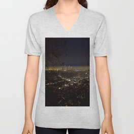 Downtown. Unisex V-Neck