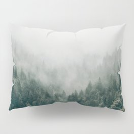 Foggy Forest 3 Pillow Sham