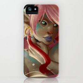 Pink Dragon iPhone Case