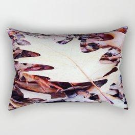Feuilles de chenes Rectangular Pillow