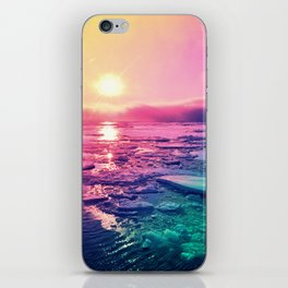 Pastel Sunset Waters iPhone Skin