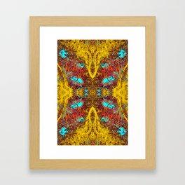 Butterfly of the Feline Tribe Framed Art Print
