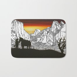 It's A Wild West Out There Bath Mat