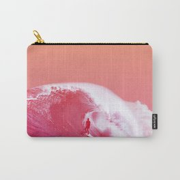 PEACHY SURF Carry-All Pouch