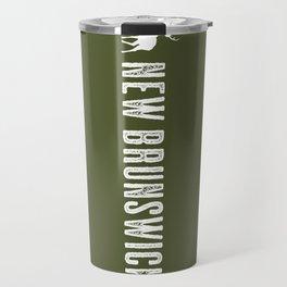 Deer: New Brunswick, Canada Travel Mug