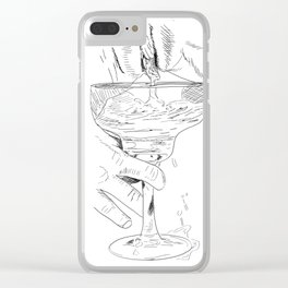 pussy margarita Clear iPhone Case
