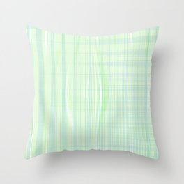 Looks like water droplet when you see from afar falling down the stripy background Throw Pillow