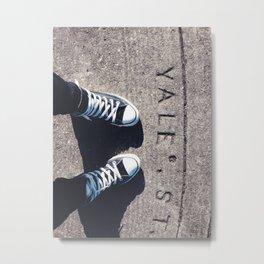 YALE Metal Print